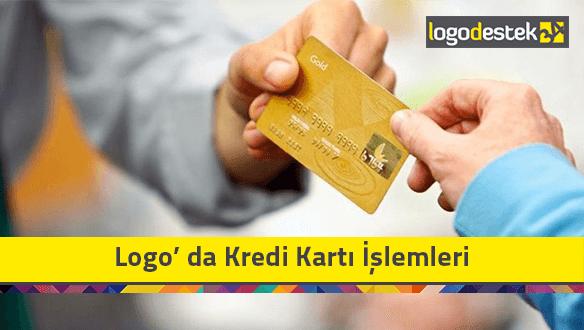 Logo Kredi Kartı İşlemleri